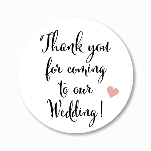 amazon com 40ct 2 wedding stickers thank you for coming to our