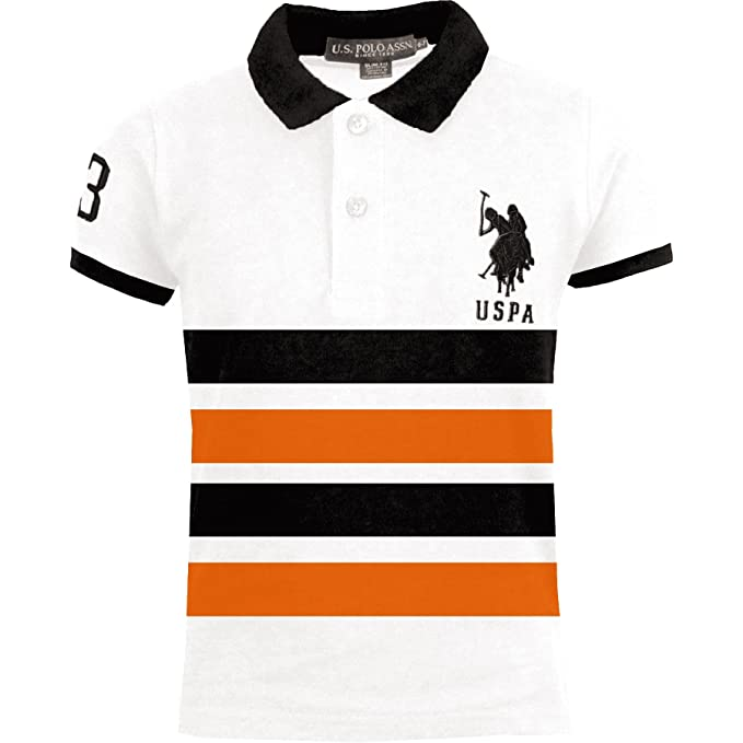 Voice7 Boys Girls Kids Polo T Shirts Unisex Children Age 3-16 Years Short Sleeve Child School Uniform 6 Colors UK Sizes