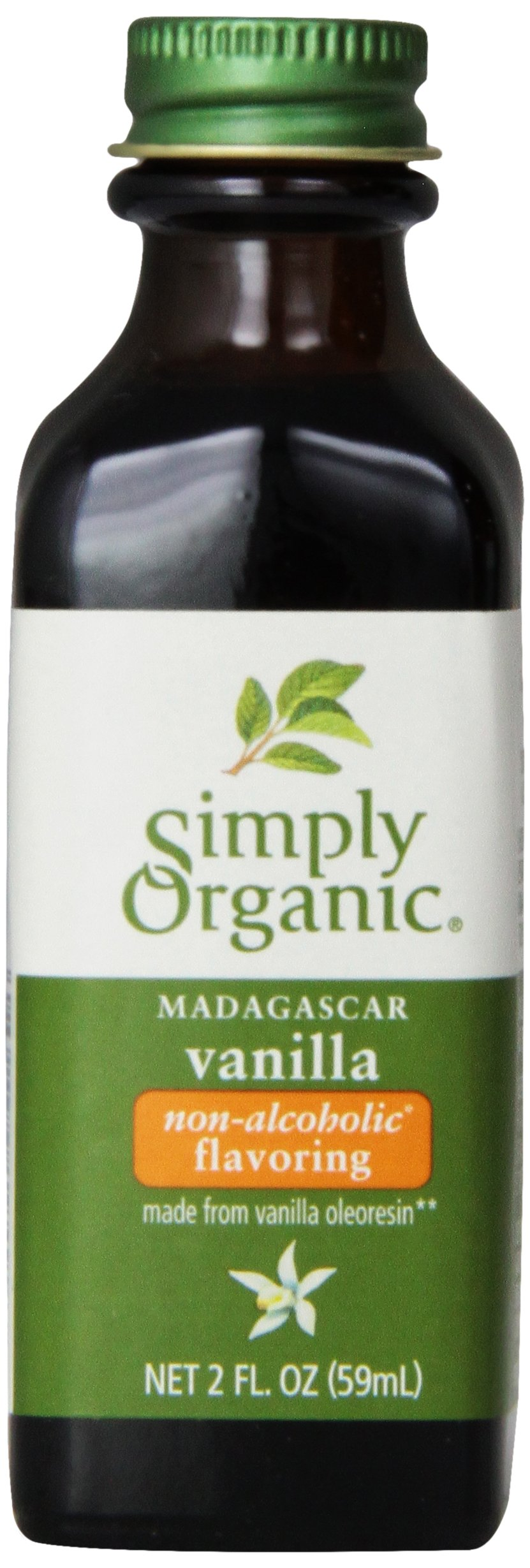 Simply Organic Vanilla Flavoring, 2 Ounce