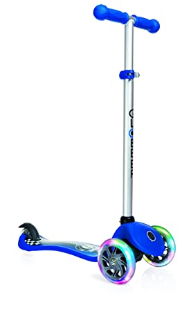 Amazon.com : Globber Primo Fantasy Lights 3 Wheel Scooter ...