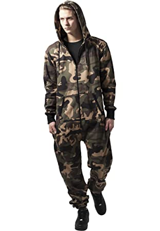 Urban Classics Camo Jumpsuit Streetwear Chándal Vestido Hombre ...