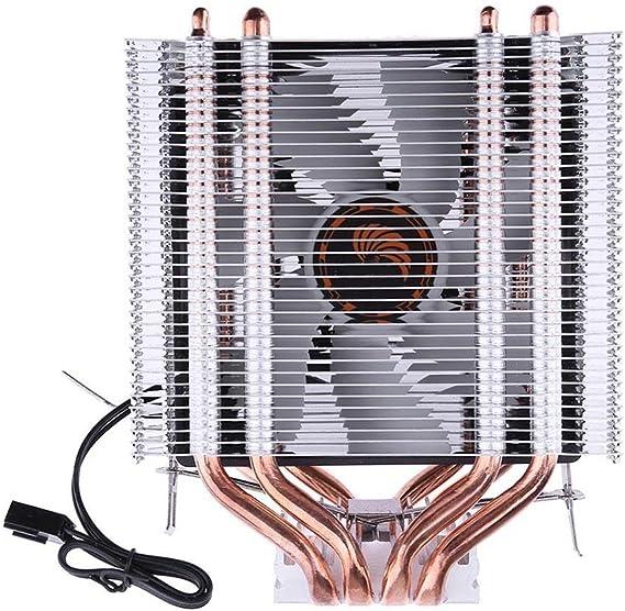 prettygood7 - Ventilador de refrigeración para CPU de 3 Pines, 12 ...