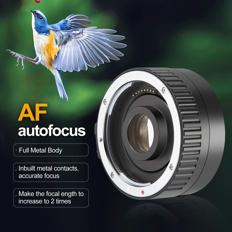 Camera Lenses Camera & Photo JINTU 2.0X Teleconverter Lens Auto ...