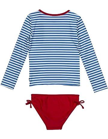 2b78a6215cb7c Nautica Girls' Rashguard Swim Suit Set
