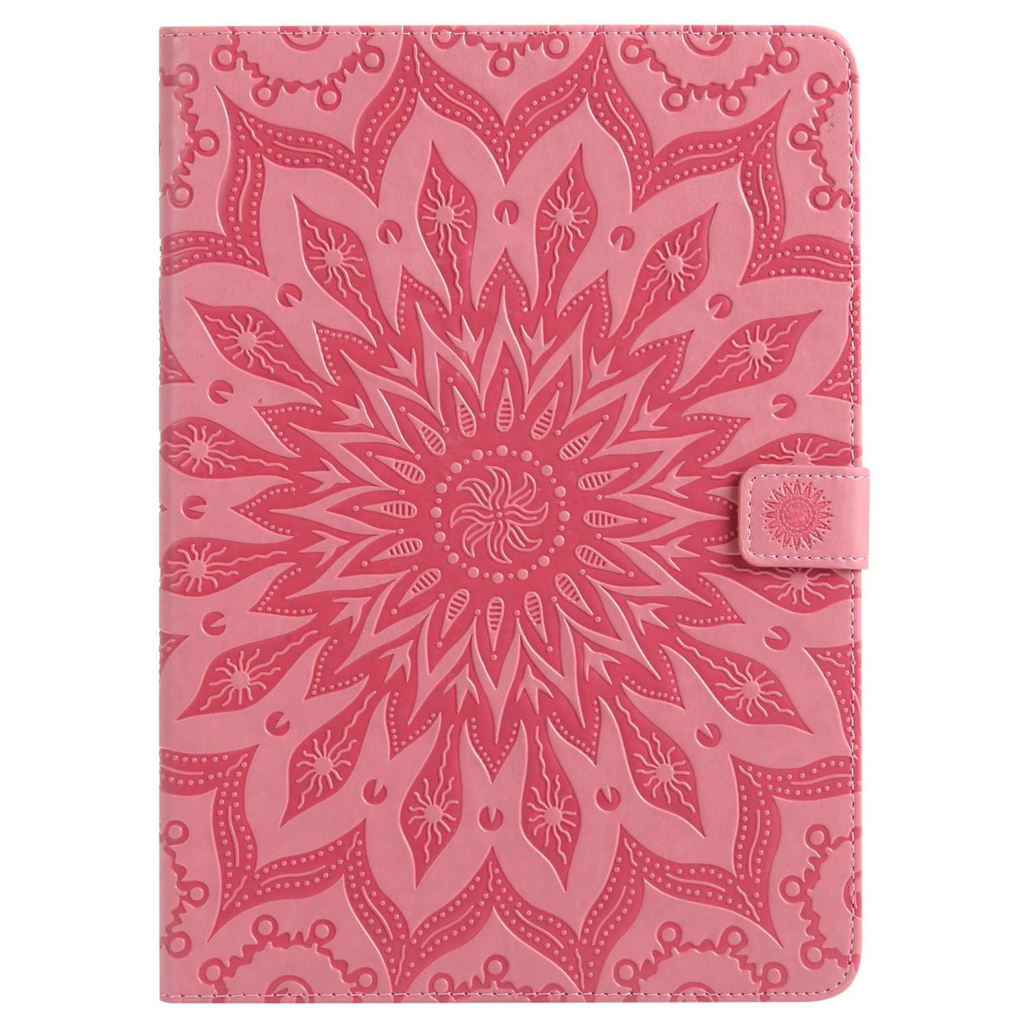 Bear Village iPad Pro 9.7 Inch Case, Anti Scratch Shell with Adjust Stand, Full Body Protective Cover for Apple iPad Pro 9.7 Inch, Pink by Bear Village