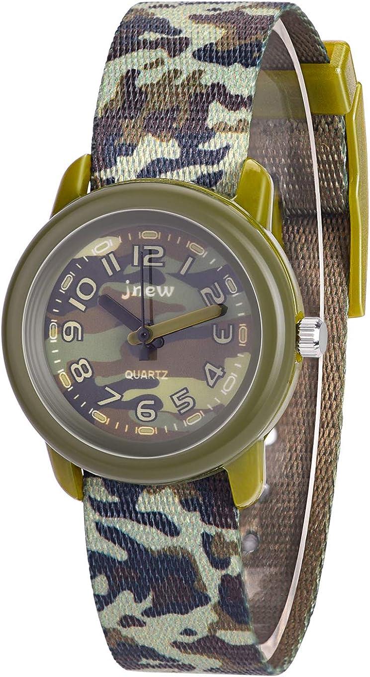 WUTAN Watches for Girls Boys Adorable Wrist Watch Girl Sport Waterproof Wrist Watches for Kids Children