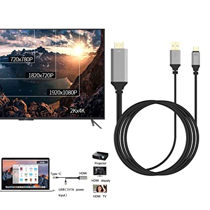 For Huawei Honor 8note 8mate 4k Hd Mhl Usb Type C To Hdmi