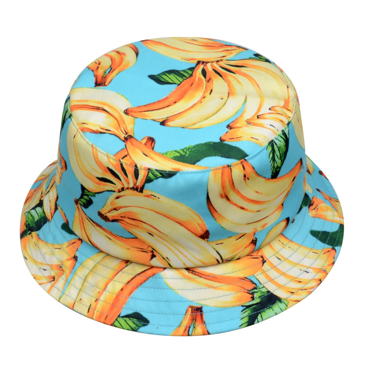 Teal Hatphile Mens Womens Trends Fashion Bucket Hat