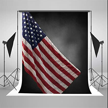 amazon com kate american flag photography backdrops 5x7ft black