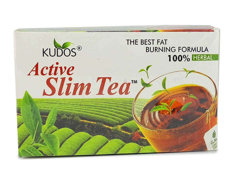 Cheapest amazon herbs - Kudosayurveda Active Slim Tea 2g X 30 Tea Bags 100 Herbal Amazon In Health Personal Care