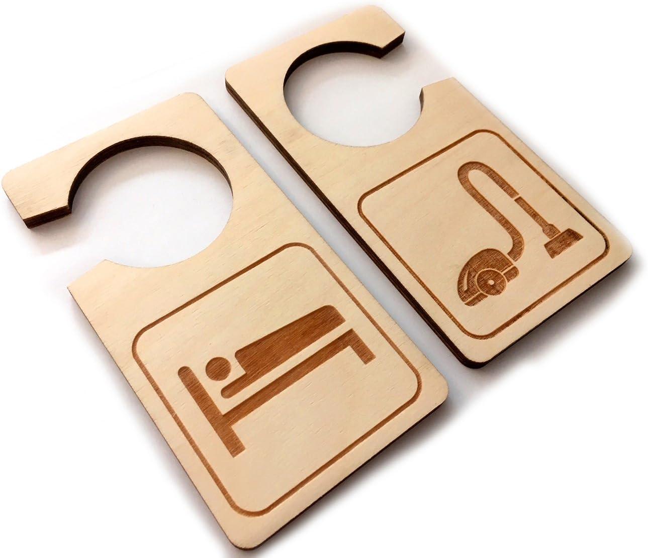 Tiptiper Le style de signe de suspension de porte /à 2 c/ôt/és ne d/érange pas Decal Home Shop Store Bedroom