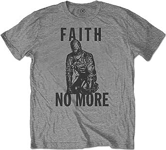 Rock Off Faith No More Men's Gimp Soft Slim Fit T-Shirt