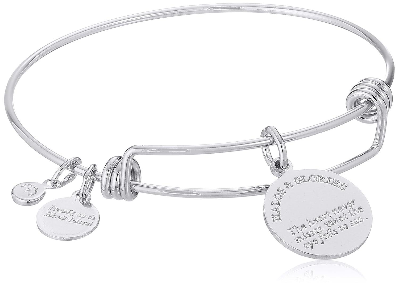 Initial Bangle Bracelet Halos /& Glories