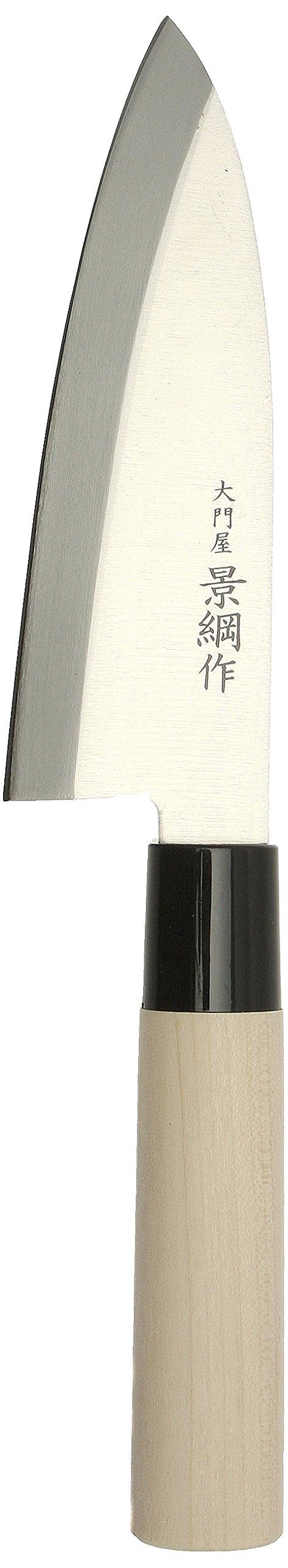 Kotobuki Kagetsuna Deba Japanese Kitchen Knife, Left-Handed