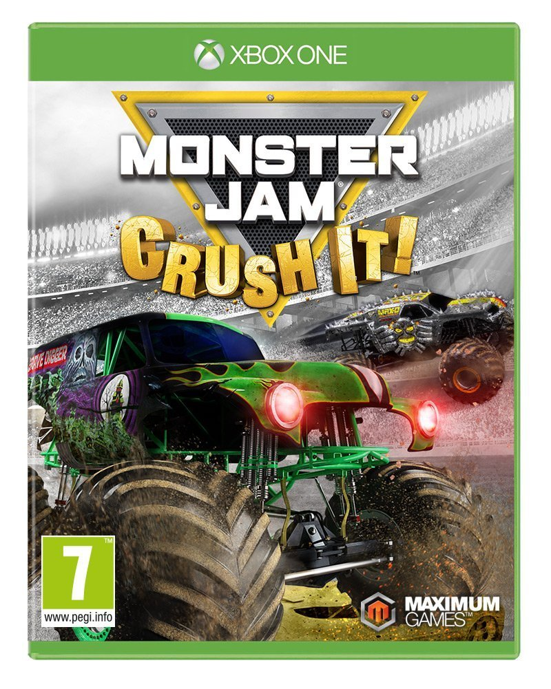 Monster Jam: Crush It for PS4, Xbox One, and Switch