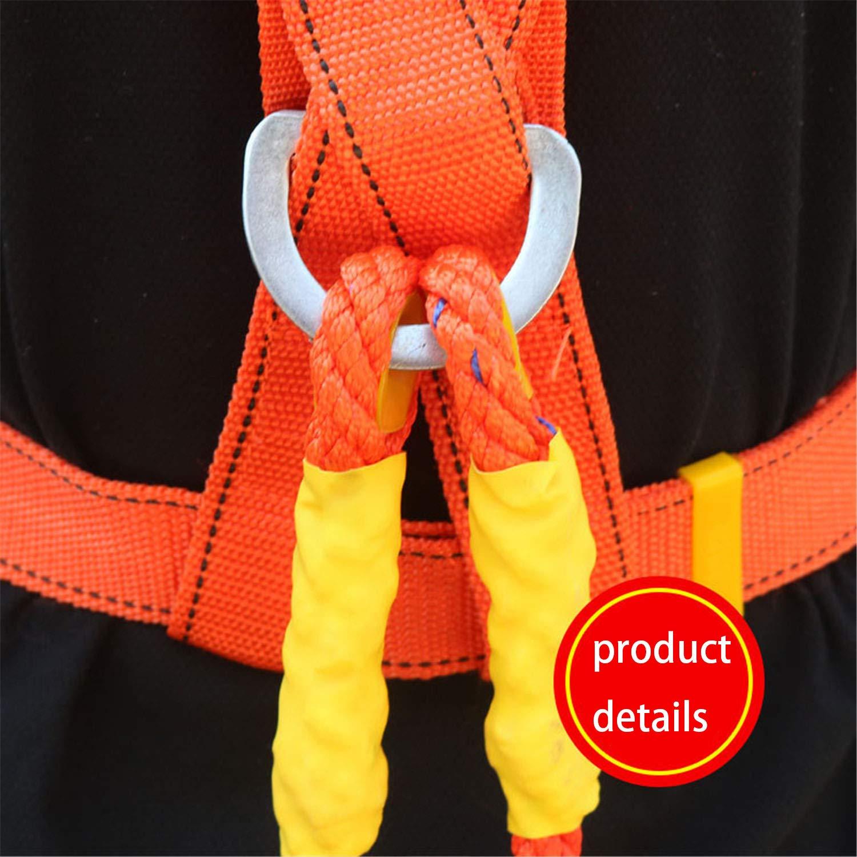 Absturzsicherungsgurt Doppelseil JHKJ Outdoor-Sicherheitsgurt Luftarbeitsgurt,D