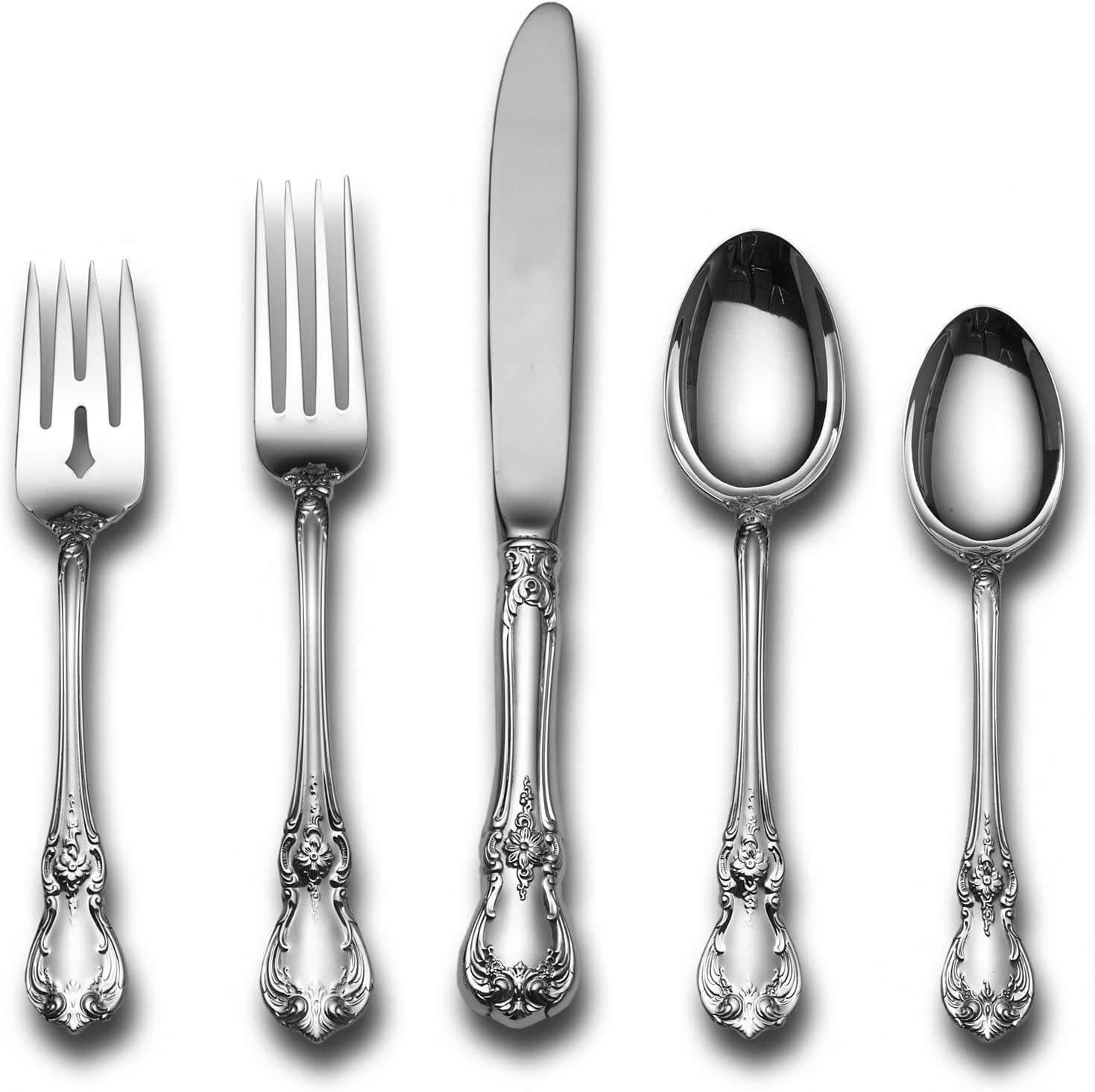 """NO MONO Towle Old Master Sterling Silver Dinner Fork 7-3//4/"""""""