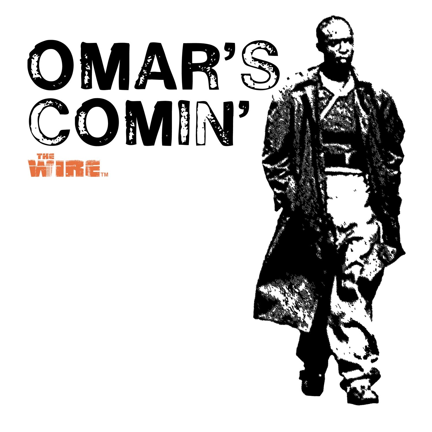 Official The Wire - Omar\'s Comin\' Mug: Amazon.co.uk: Kitchen & Home