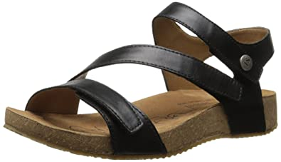 9eb54963c7cb Josef Seibel Women s Tonga 25 Flat Sandal Black 36 EU 5-5.5 M US