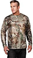 Tri-Mountain 622C Polyester mesh long sleeve shirt with Realtree APe & Tri-Mountain UltraCool