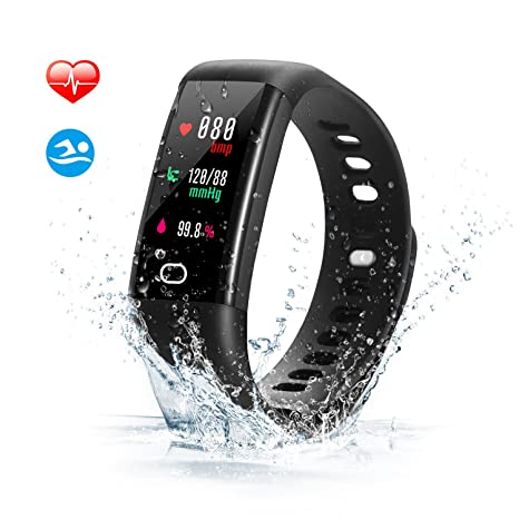 Digital Watches Men's Watches M3 Fitness Smart Bracelet Blood Pressure & Heart Rate Monitor 0.96 Inch Colorful Touch Screen Smart Band Wristband Step Counter