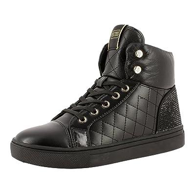 Guess Janis, Damen Sneaker, Schwarz Schwarz Größe: 35