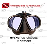 Hammerhead spearguns MV3 Action mask ultra clear w/arc purple HHD1638_arc