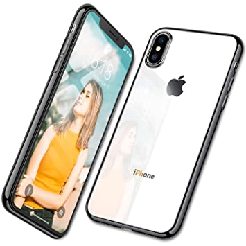 coque noir ultra fine iphone xs