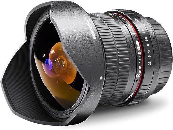 Walimex Pro 8 Mm 1 3 5 Dslr Fish Eye Ii Objektiv Kamera