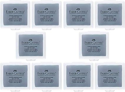 Faber-Castell goma tipo Eraser en caja de plástico, color Grau ...