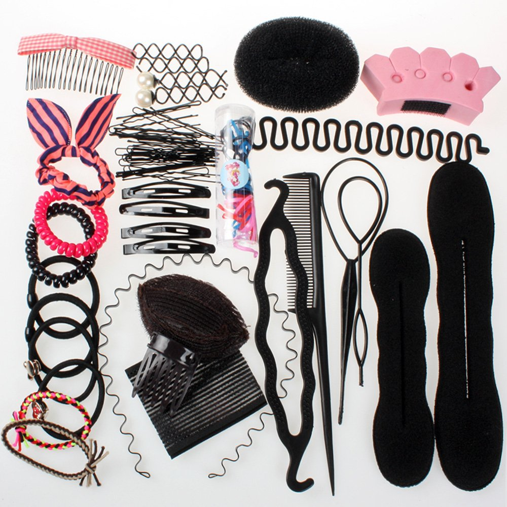 Neverland Accessoires Outils de cheveux coiffure cheveux Twist Styling clip à chignon Maker tresse Outil