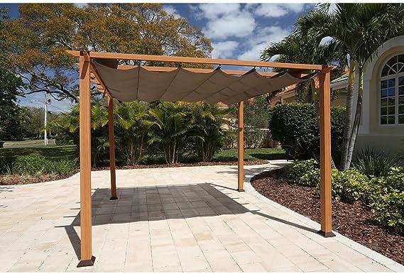 Aluminio Carpa Pabellón Gazebo Florida//350 x 350 x 229 cm ...