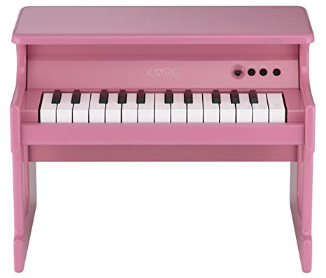 Korg TINYPIANO-PK - Piano digital para niños, color rosa