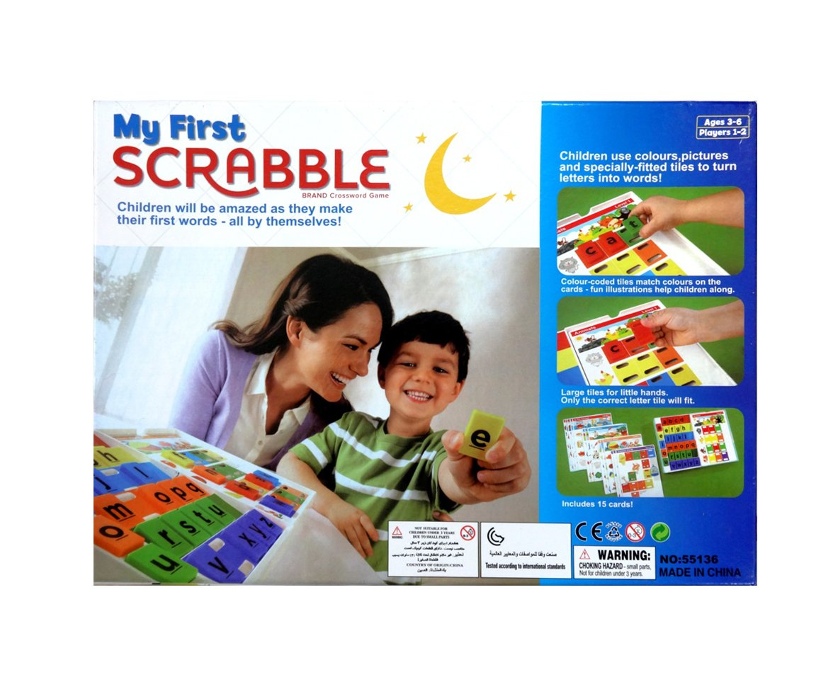 Buy Shopaholic My First Scrabble Board Game For A Colorful Start To