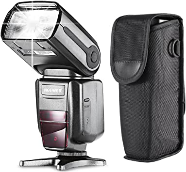 Neewer NW565EX E-TTL Flash Esclavo Speedlite para Canon 7D Mark II ...