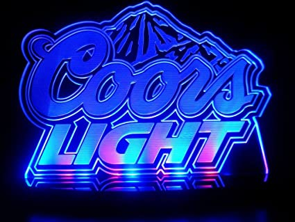 Advertising coors light led desk lamp night light beer bar bedroom advertising coors light led desk lamp night light beer bar bedroom game room signs aloadofball Choice Image