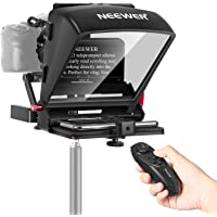 Neewer X1 Mini Teleprompter Portable Smartphone Teleprompter Artifact Video with Remote Control Compatible with iPhone…