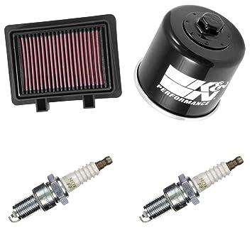 K & N ngk Mantenimiento Set Suzuki DL 1000 A V de corriente ...