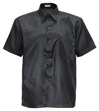 Men's Shirt Short Sleeve Thai Silk at Amazon Men's Clothing store: