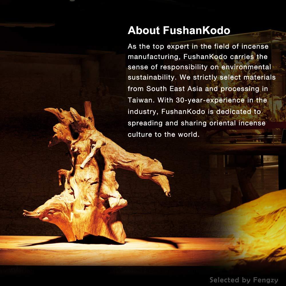 Fushankodo for Brand Incense Sticks -Natural Hoi-an Red Clay Agarwood Aloeswood - Origin Hoi-an Vietnam (135mm/5.3'') by Fushankodo (Image #7)