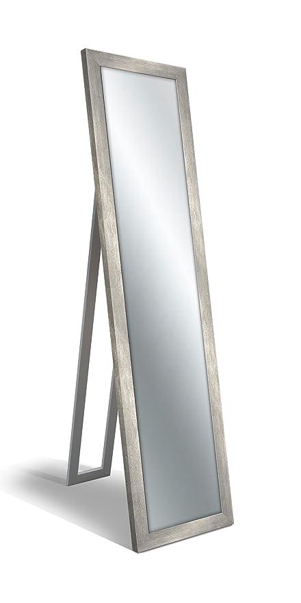 Specchio Da Terra.Lupia Specchio Da Terra Floor Mirror 40x160 Cm Boston Silver