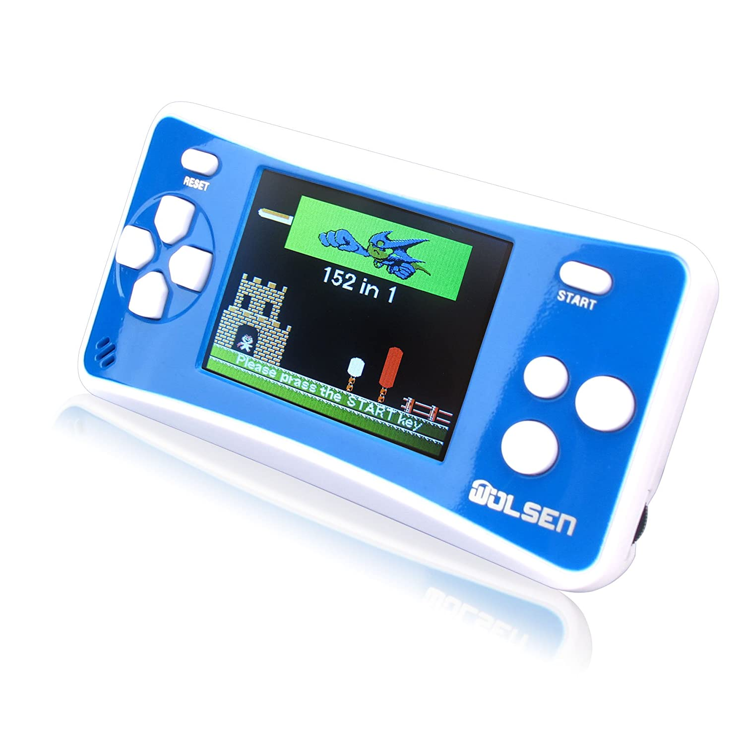 Portable Exhibition Game : Wolsen quot lcd portable handheld game console speaker