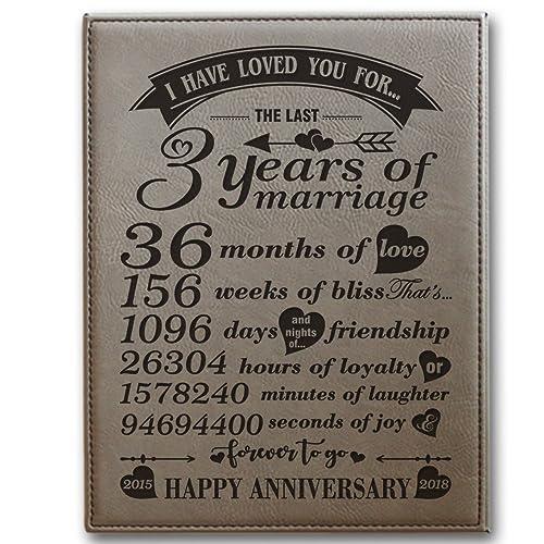 3rd Wedding Anniversary Gift: 3rd Wedding Anniversary Gifts: Amazon.com