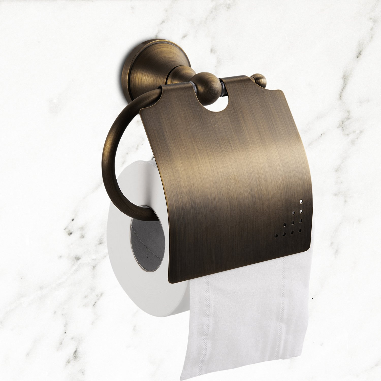 new LightInTheBox Antique Brass Wall-mounted Toilet Roll Holder (1018-J-29-6)
