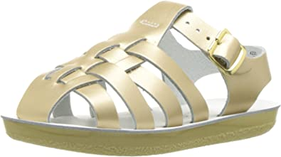 NEW INFANT TODDLER SALTWATER SANDAL SEA WEE 2020 GOLD SUN-SAN BY HOY SHOES
