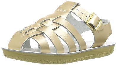 1aaa420f403e Salt Water Sandals by Hoy Shoe Girls  Sun-San Sailor Flat Sandal