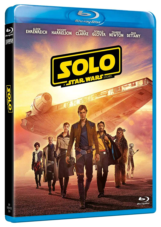 Star Wars - Solo: A Star Wars Story 2 Blu-Ray Blu-ray: Amazon ...