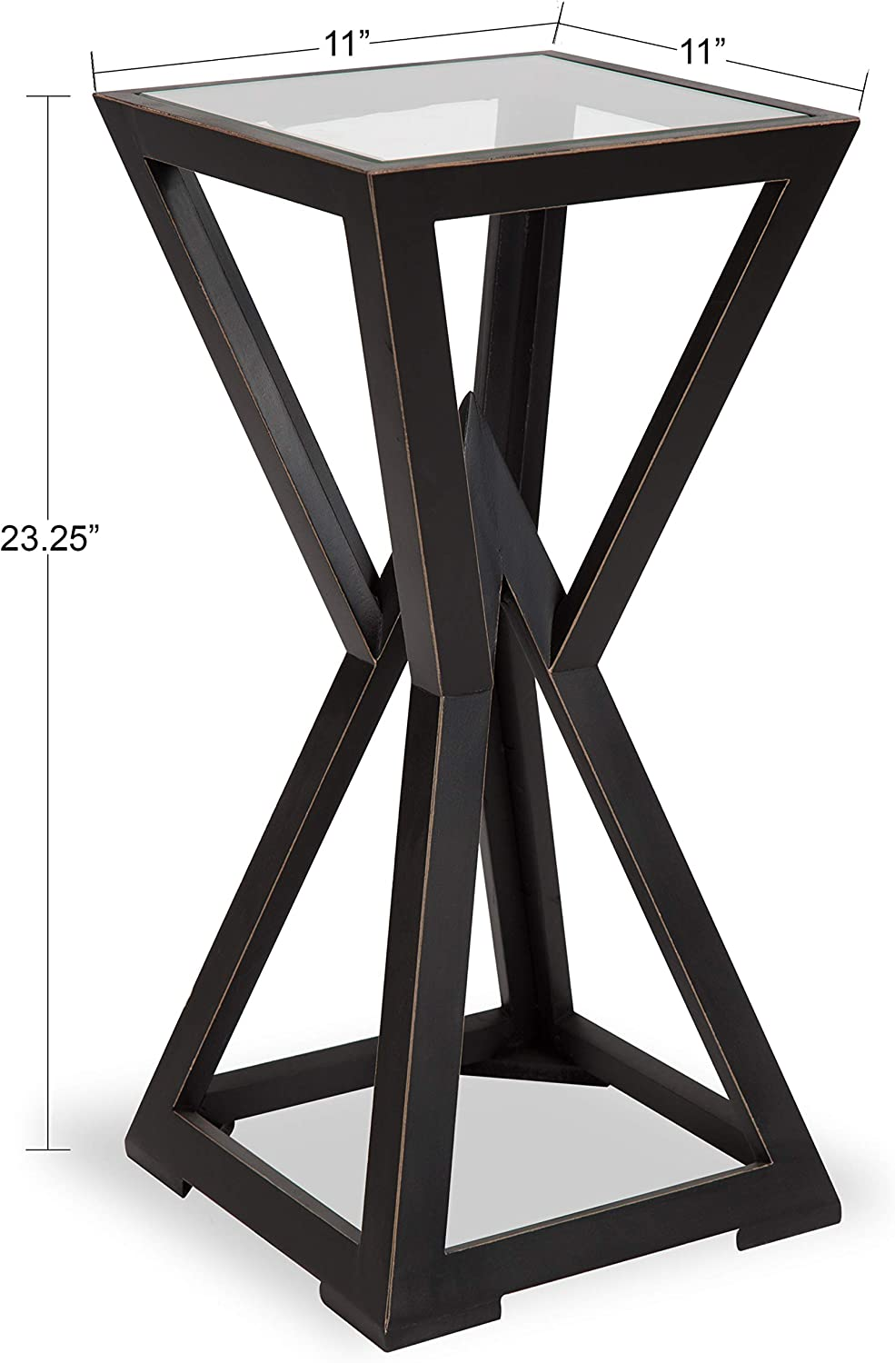 - Amazon.com: Kate And Laurel Yogi Modern Accent Table Plant Stand