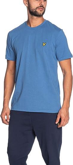 Lyle & Scott Crew Neck T-Shirt Camiseta para Hombre: Amazon.es ...