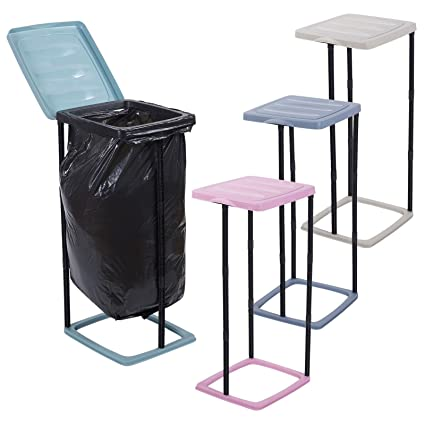 Soporte para bolsas de basura URBNLIVING, plegable, con ...